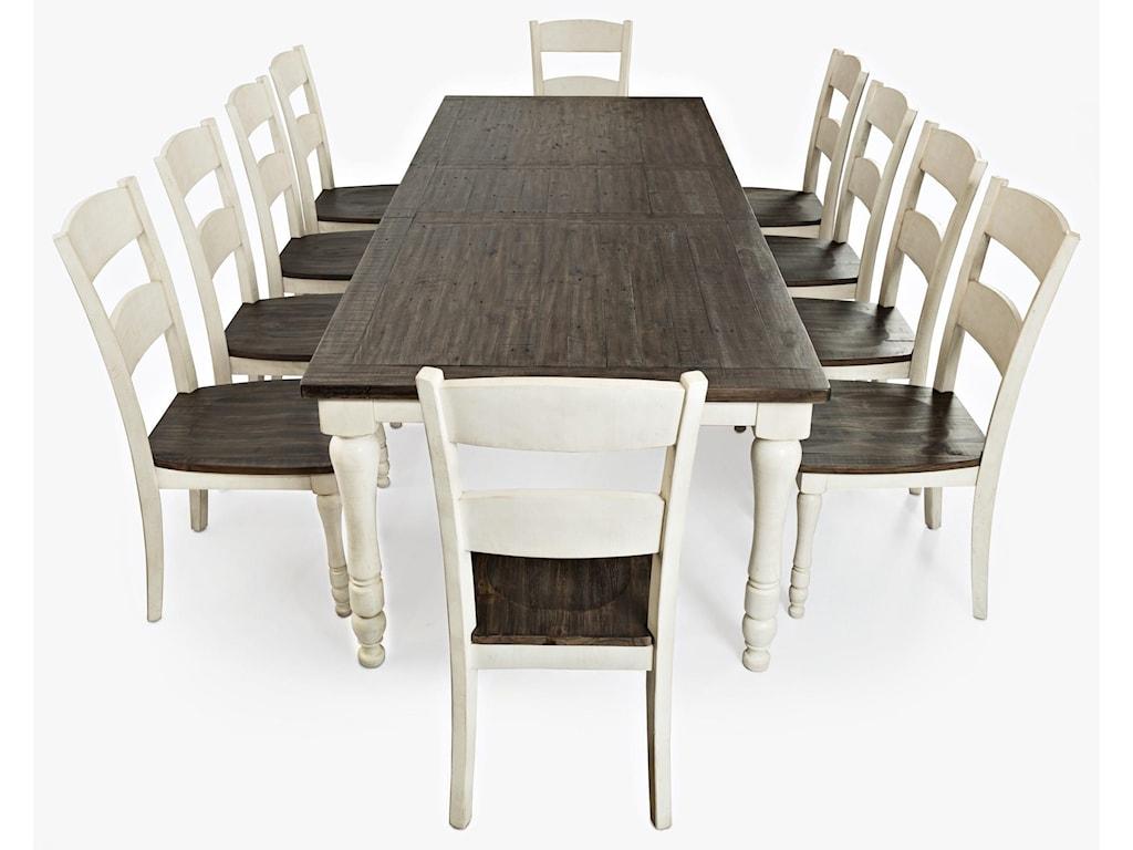 Jofran Madison County9-Piece Dining Set