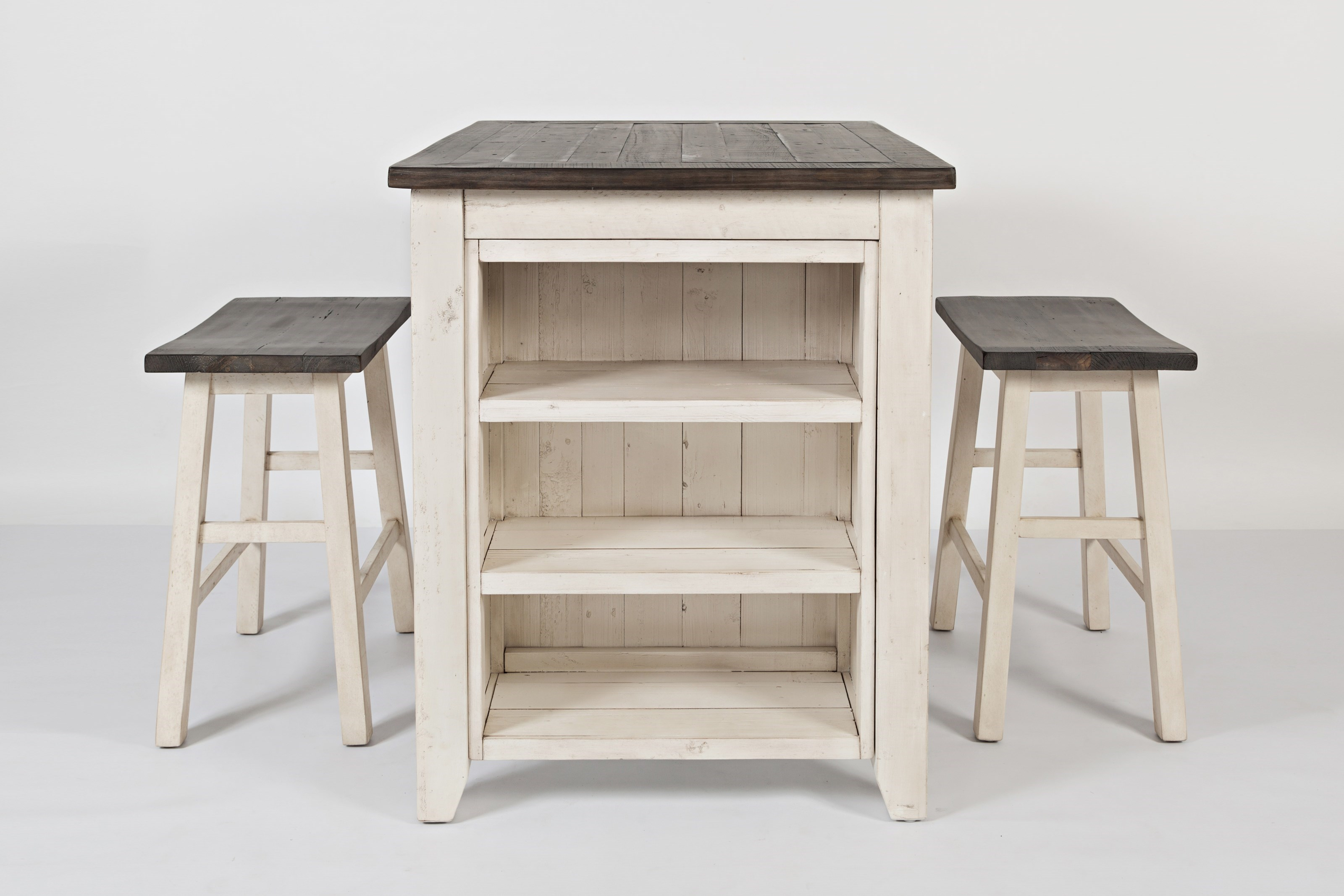 Jofran Madison County3 Piece Counter Height Table Set ...