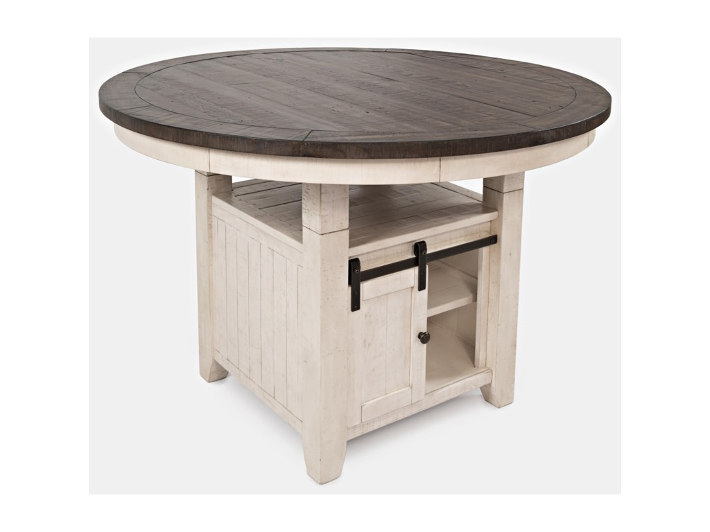 Jofran Madison CountyHigh/Low Round Dining Table