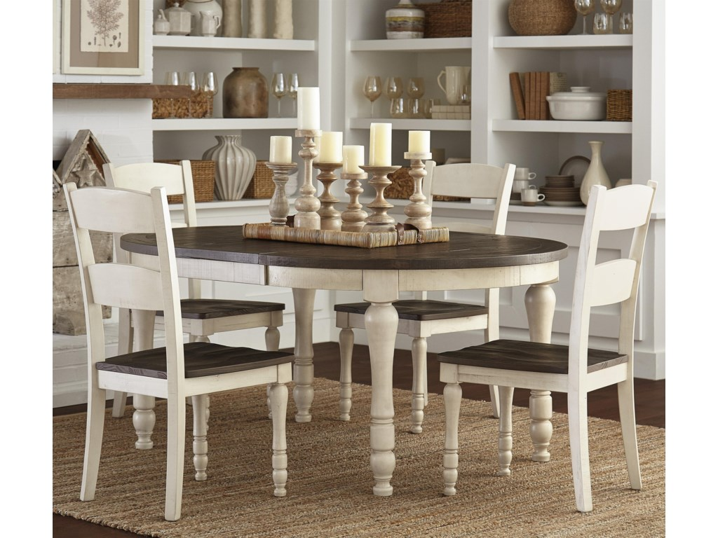 Jofran Madison CountyTable & 4 Chairs