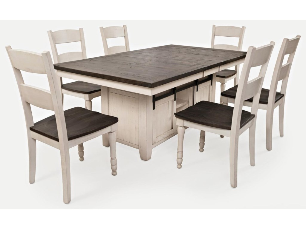 Jofran Madison CountyTable & 6 Chairs