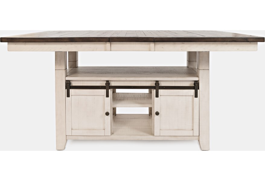 Jofran Madison County High Low Dining Table Stoney Creek