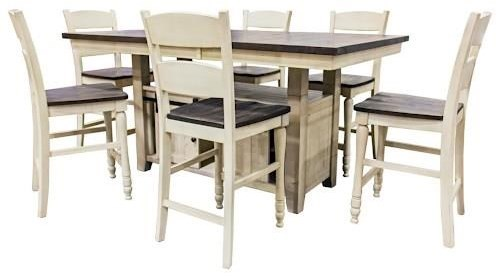 Jofran Madison County 1706pub Pub Table And Four Stools Furniture