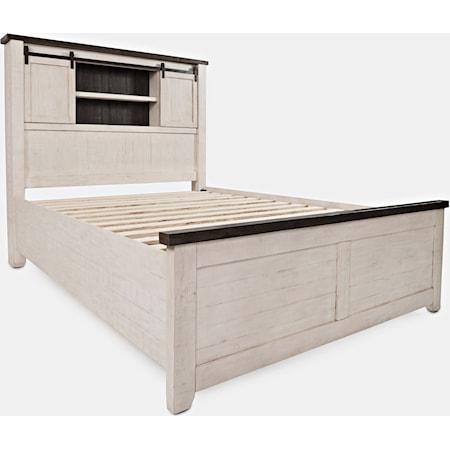 King Barn Door Bed