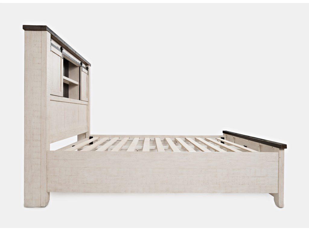 Jofran Madison CountyKing Barn Door Bed