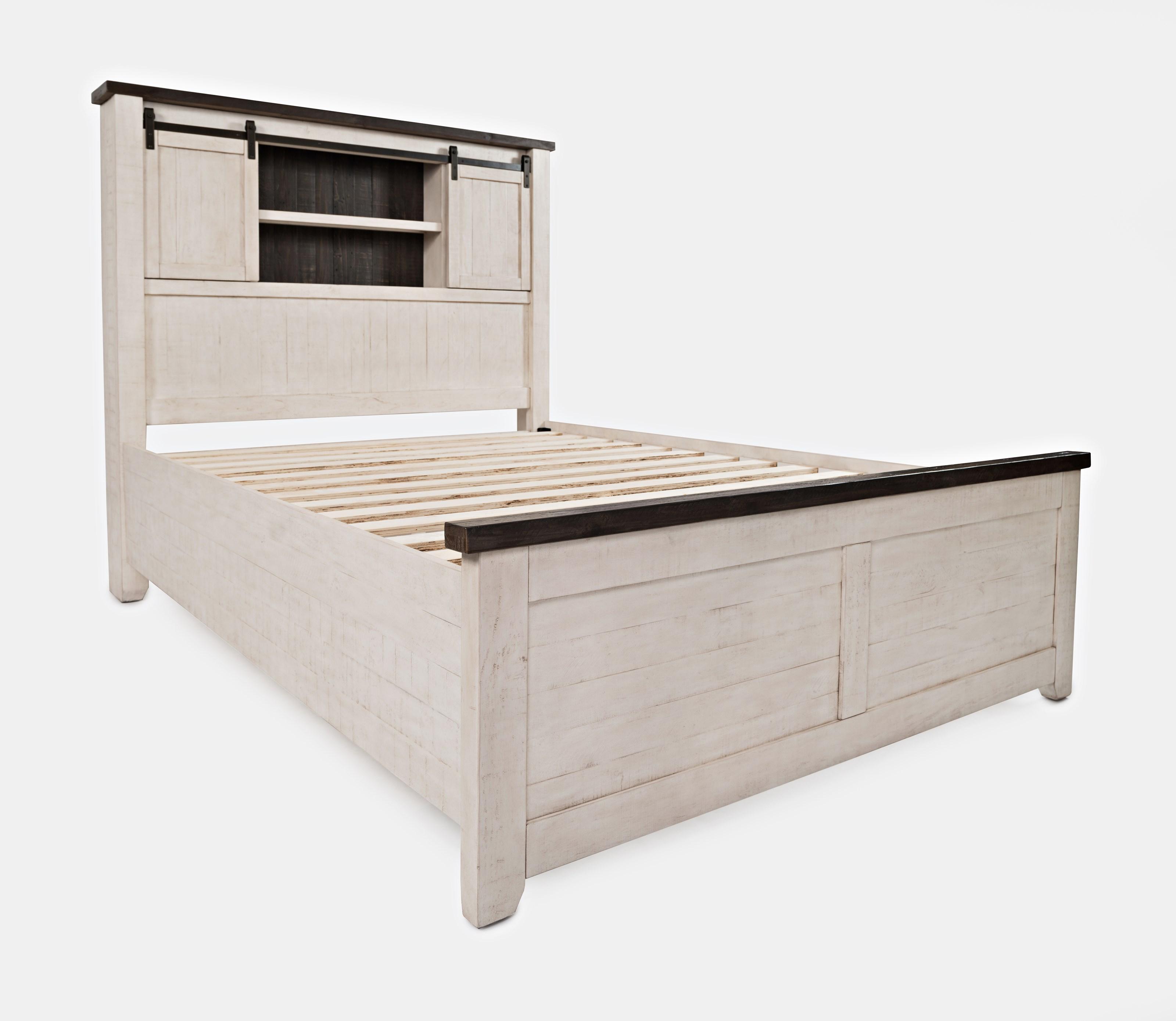 Queen Barn Door Bed