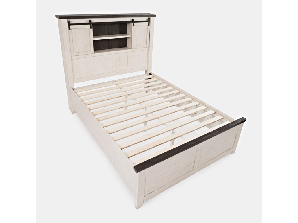 Jofran Madison CountyQueen Barn Door Bed