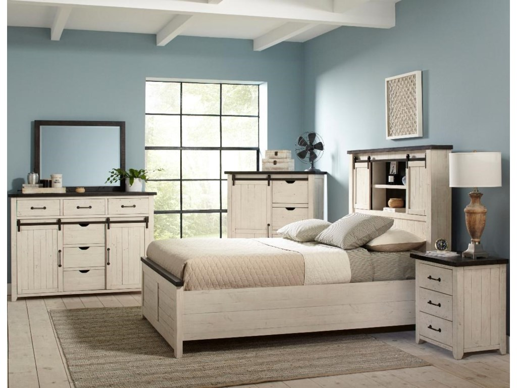 Jofran Madison CountyKing Madison County Bedroom Group