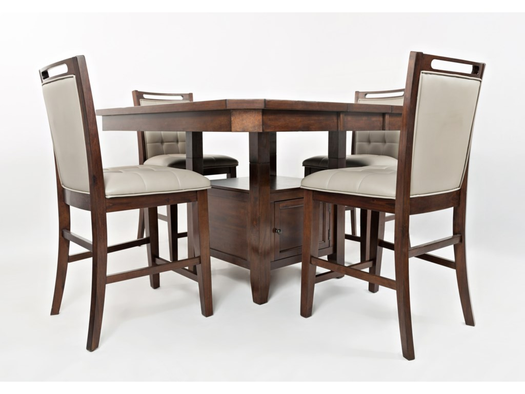 piece dining set chairs solid weekends counter height chair only furniture wood rustic glenwood