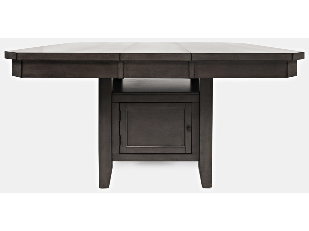 Manchester High/Low Square Dining Table by Jofran at Pilgrim Furniture City