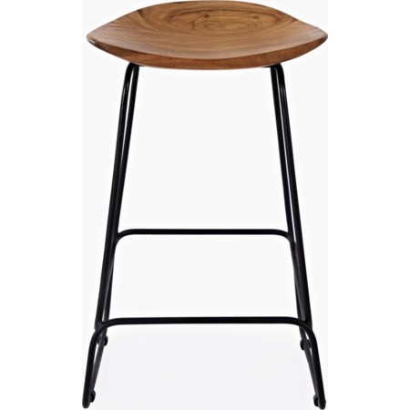 Natural Backless Stool (3/CTN)