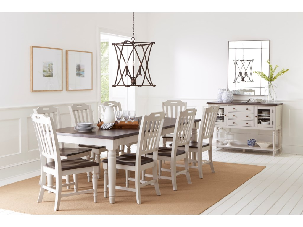 Orchard Park Dining Table With 8 Chairs