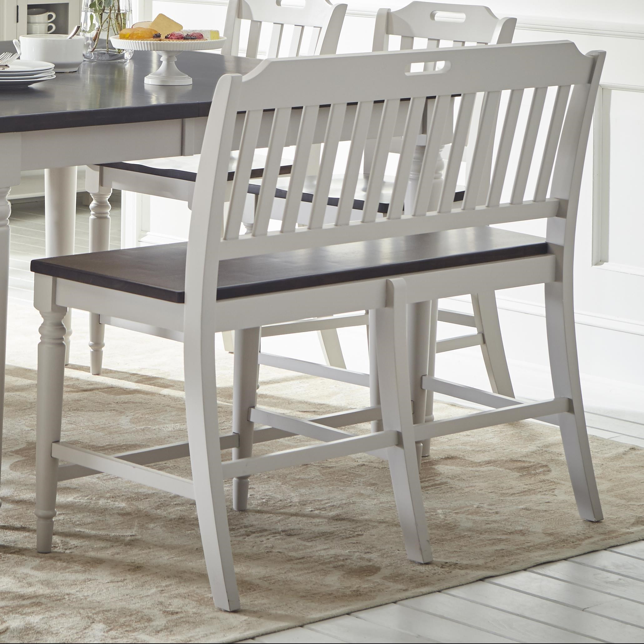 Jofran Orchard Park Counter Height Bench | Value City Furniture | Dining  Benches