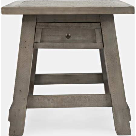 Power End Table