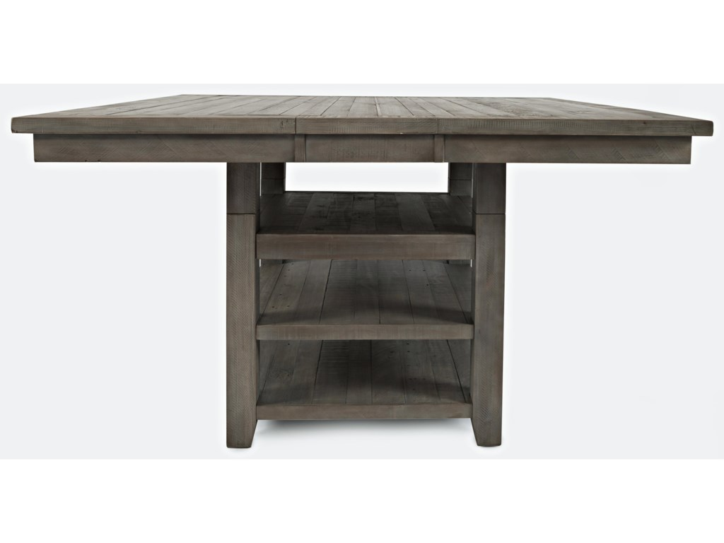 Jofran Outer BanksHi/Low Square Storage Dining Table