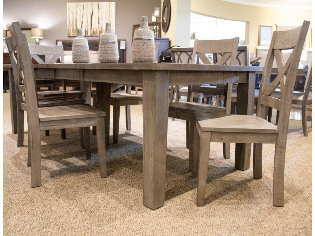 Jofran Outer BanksDining Table & 6 Side Chairs