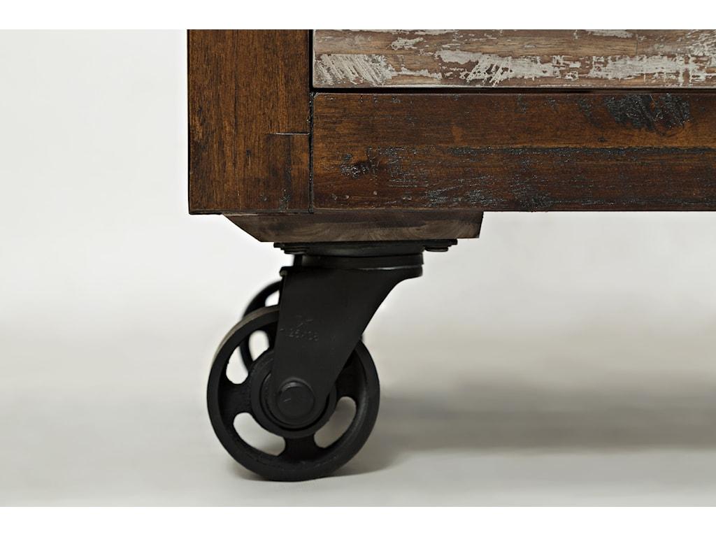 Caster Wheel Detail Shot