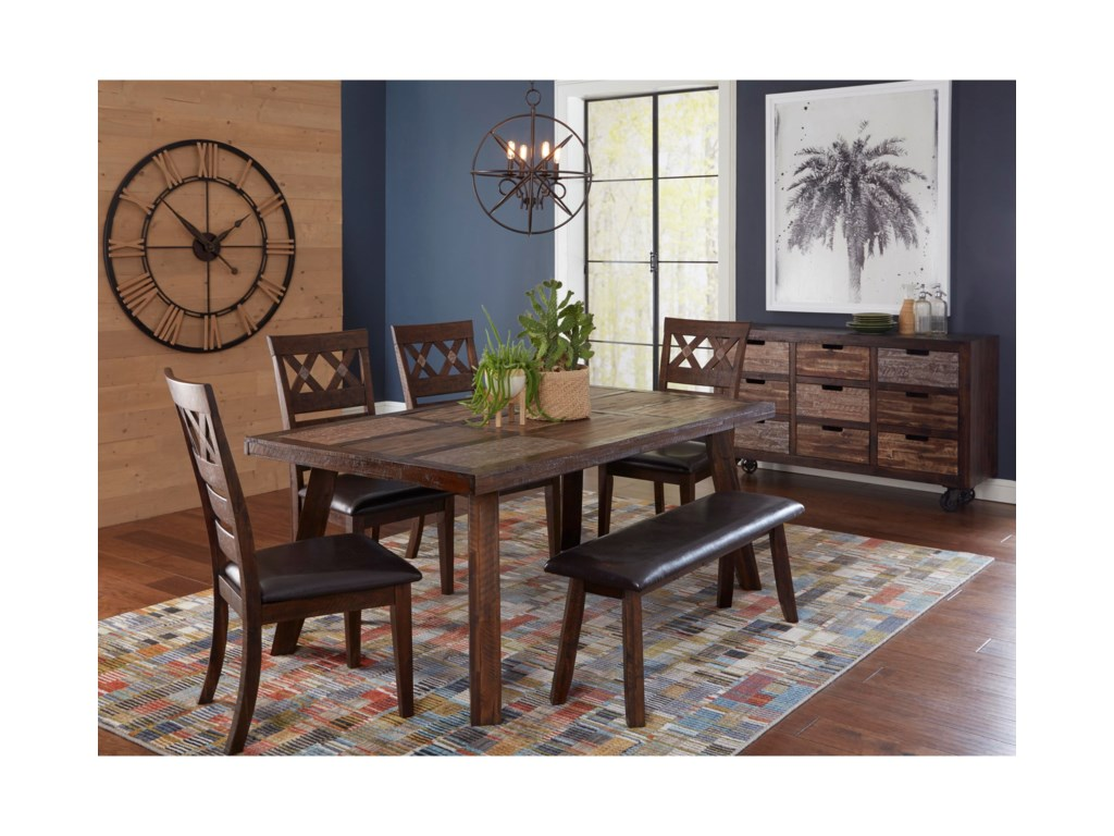 Jofran Painted CanyonDining Table