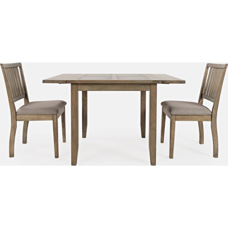 3-Piece Dining Table and Chair Set
