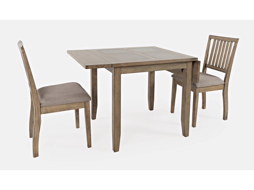Jofran Prescott Park3-Piece Dining Table and Chair Set
