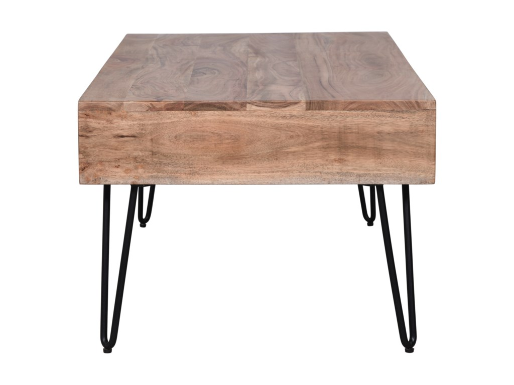 Jofran Rollins3 Drawer Coffee Table