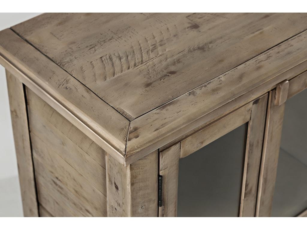 Cabinet Top Corner Detail Shot