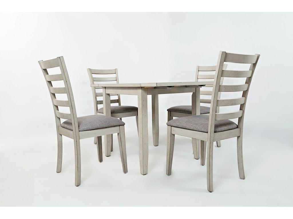 Jofran Sarasota SpringsDrop-Leaf Table and 4 Chair Set