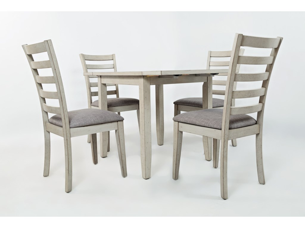 Jofran Sarasota Springs DropLeaf Table And Chair Set Pilgrim - The table sarasota