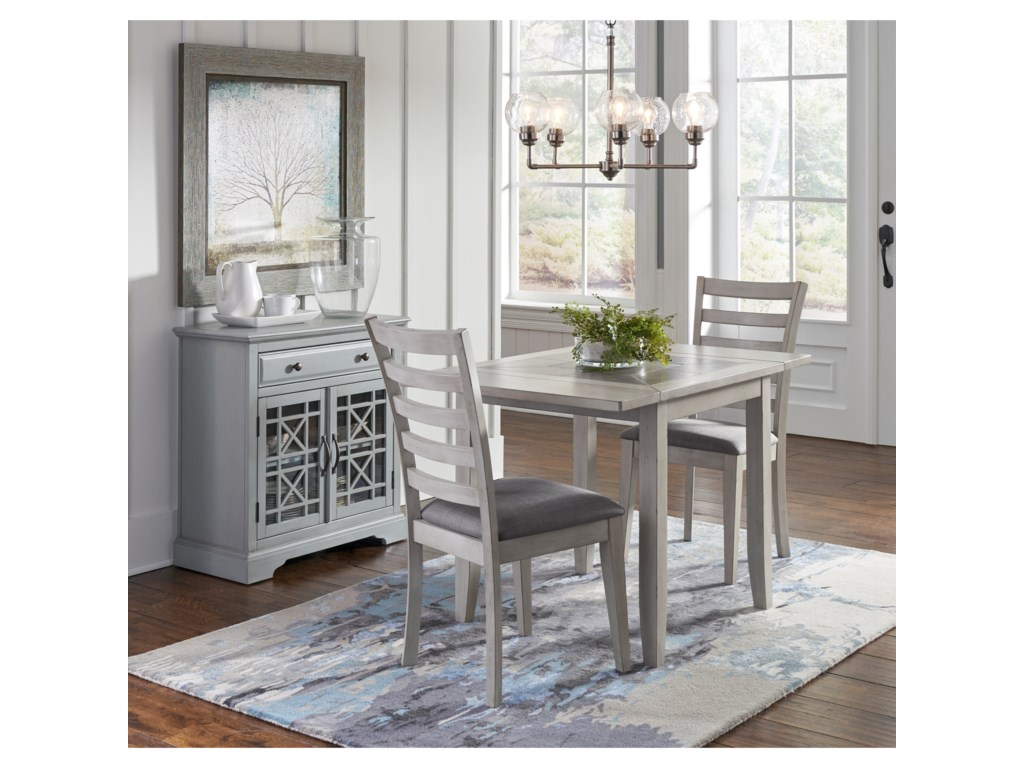 Jofran Sarasota SpringsTiled Table and TWO chairs