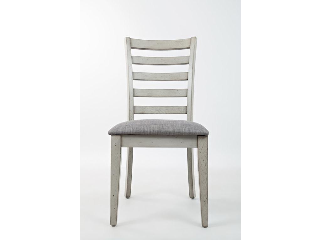 Jofran Sarasota SpringsLadder Back Dining Chair wi