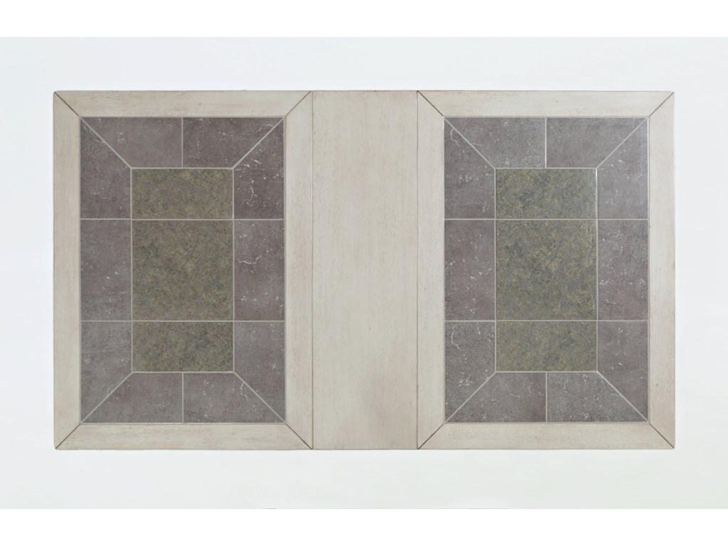 Morris Home Furnishings StoneridgeStoneridge Tiled Extension Dining Table