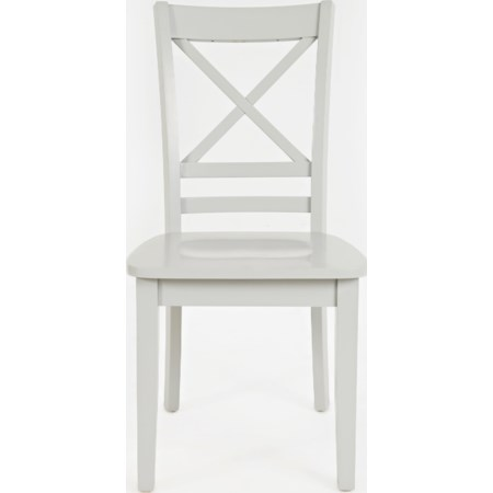 """""""X"""" Back Side Chair"""