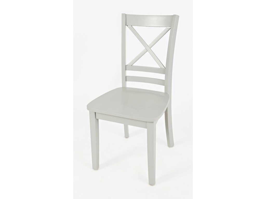 "Jofran Simplicity""X"" Back Side Chair"