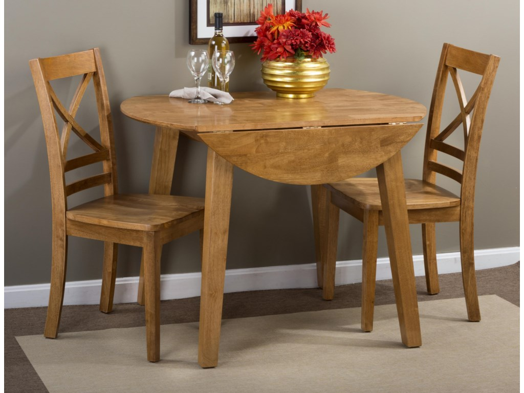 Jofran SimplicityRound Table and 2 Chair Set