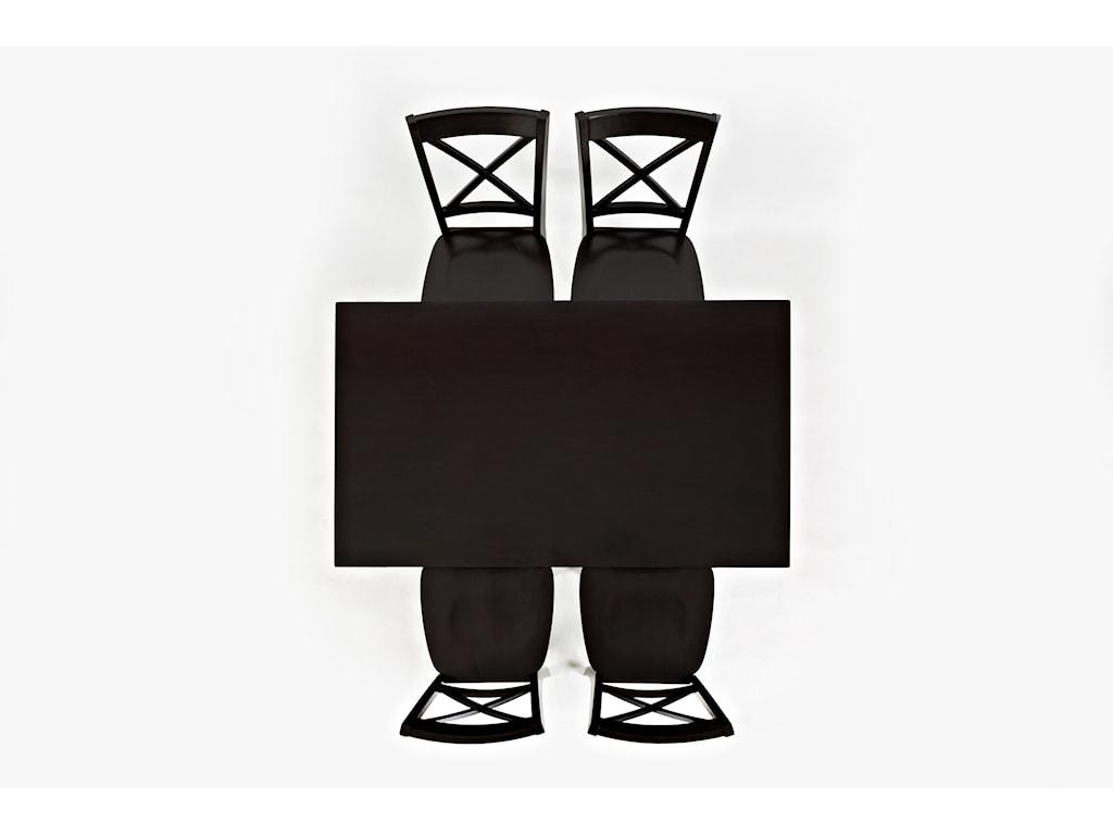 Jofran SimplicityX-Back Stool - Counter Height