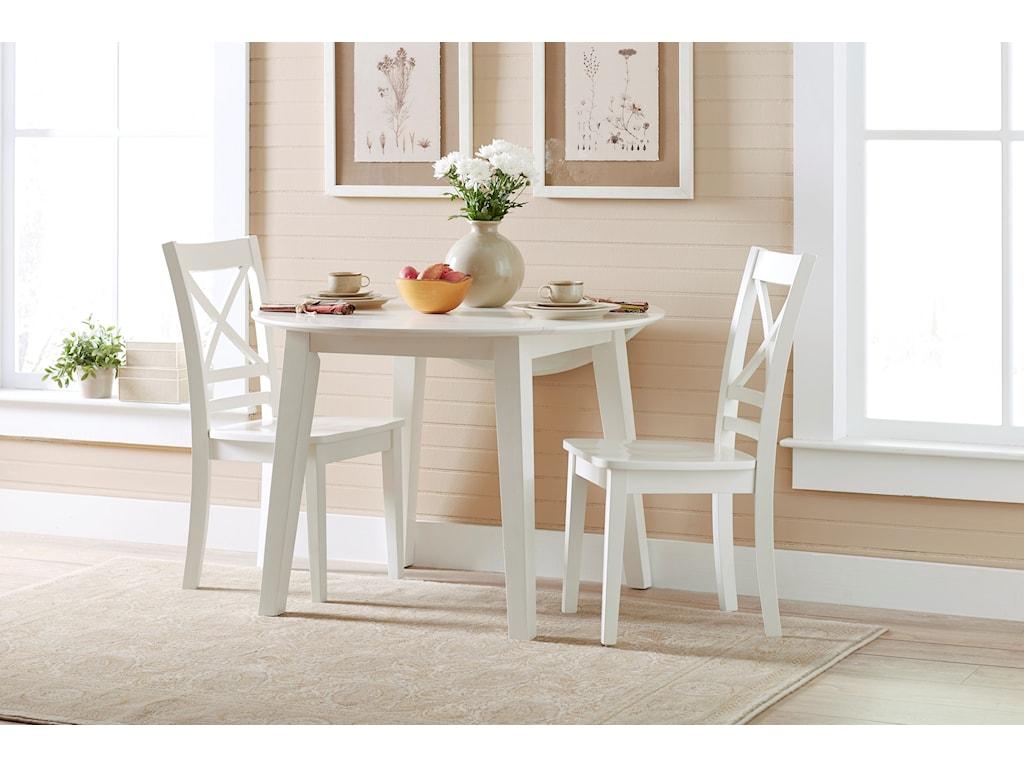 Jofran Simplicity3 Piece Dining Set