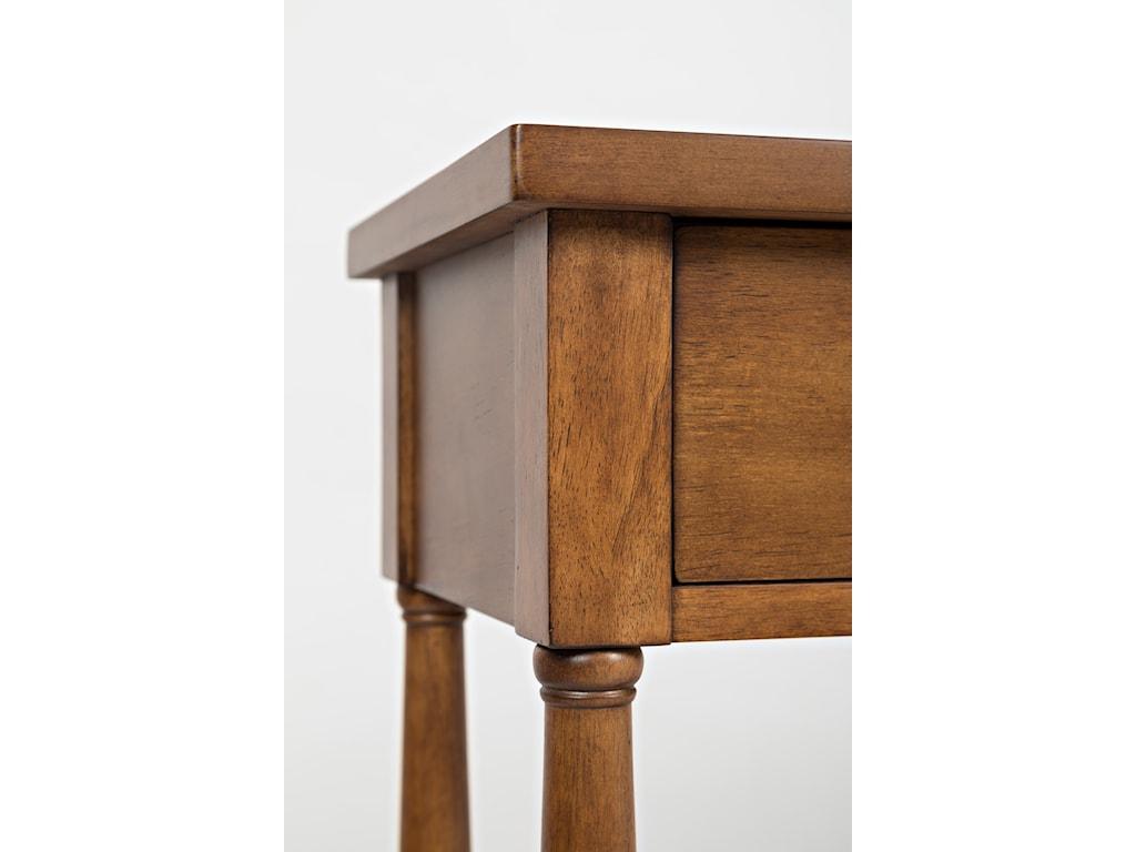 Table Top Corner Edge Detail Shot