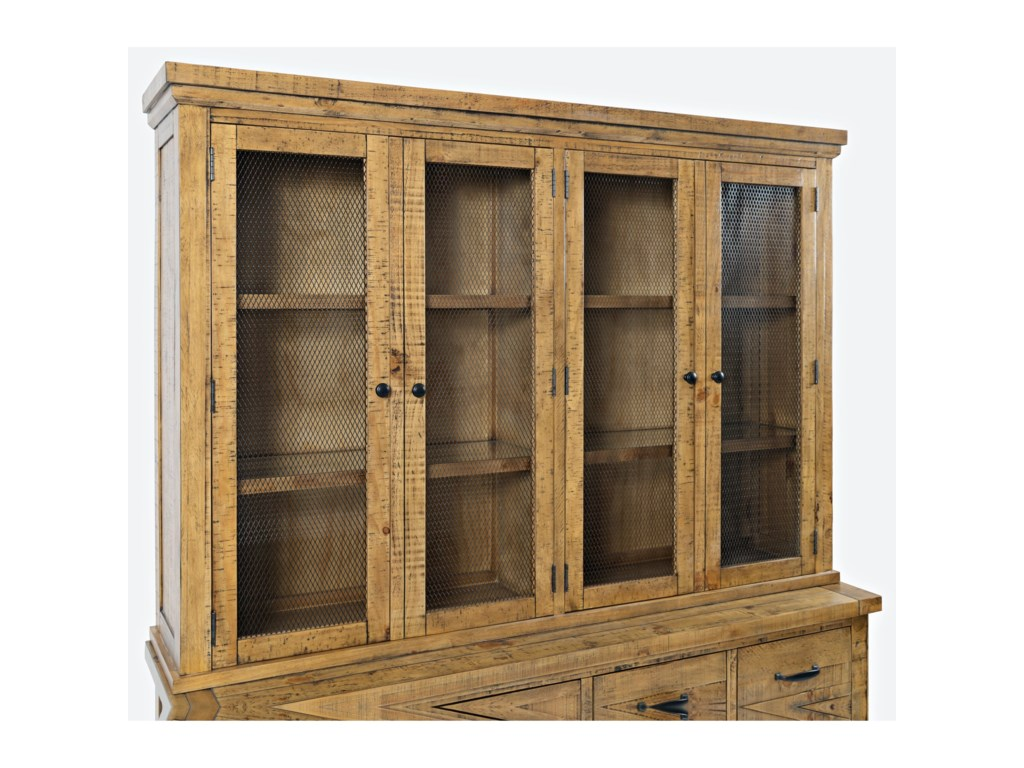 Jofran Telluride Hutch with Touch Light