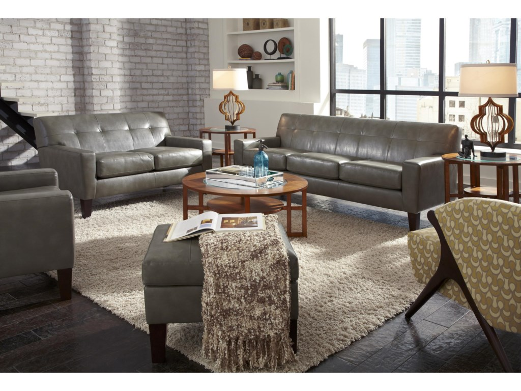 Shown with Loveseat and Ottoman