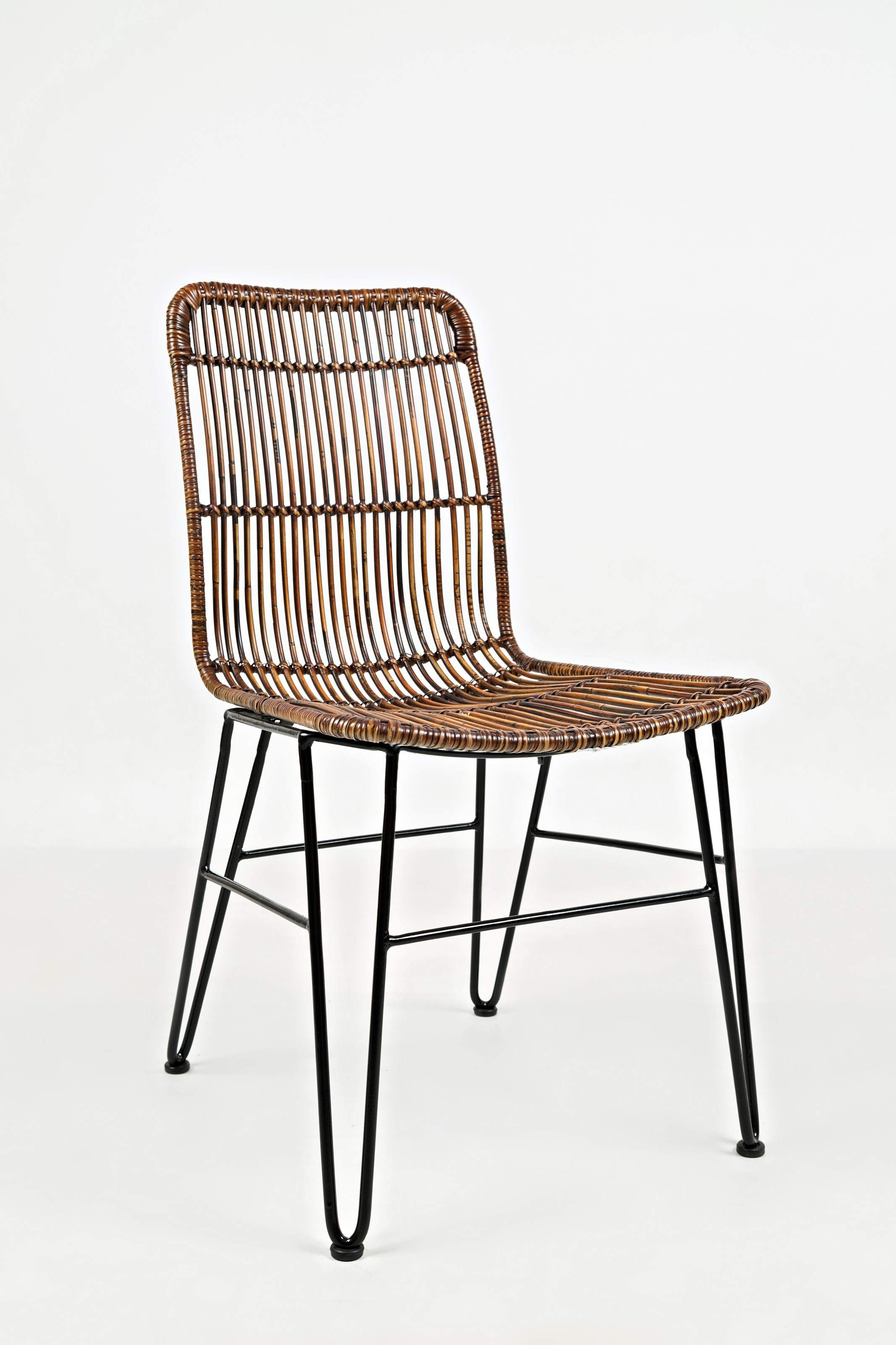 Jofran Urban DwellerWire And Rattan Dining Chair ...