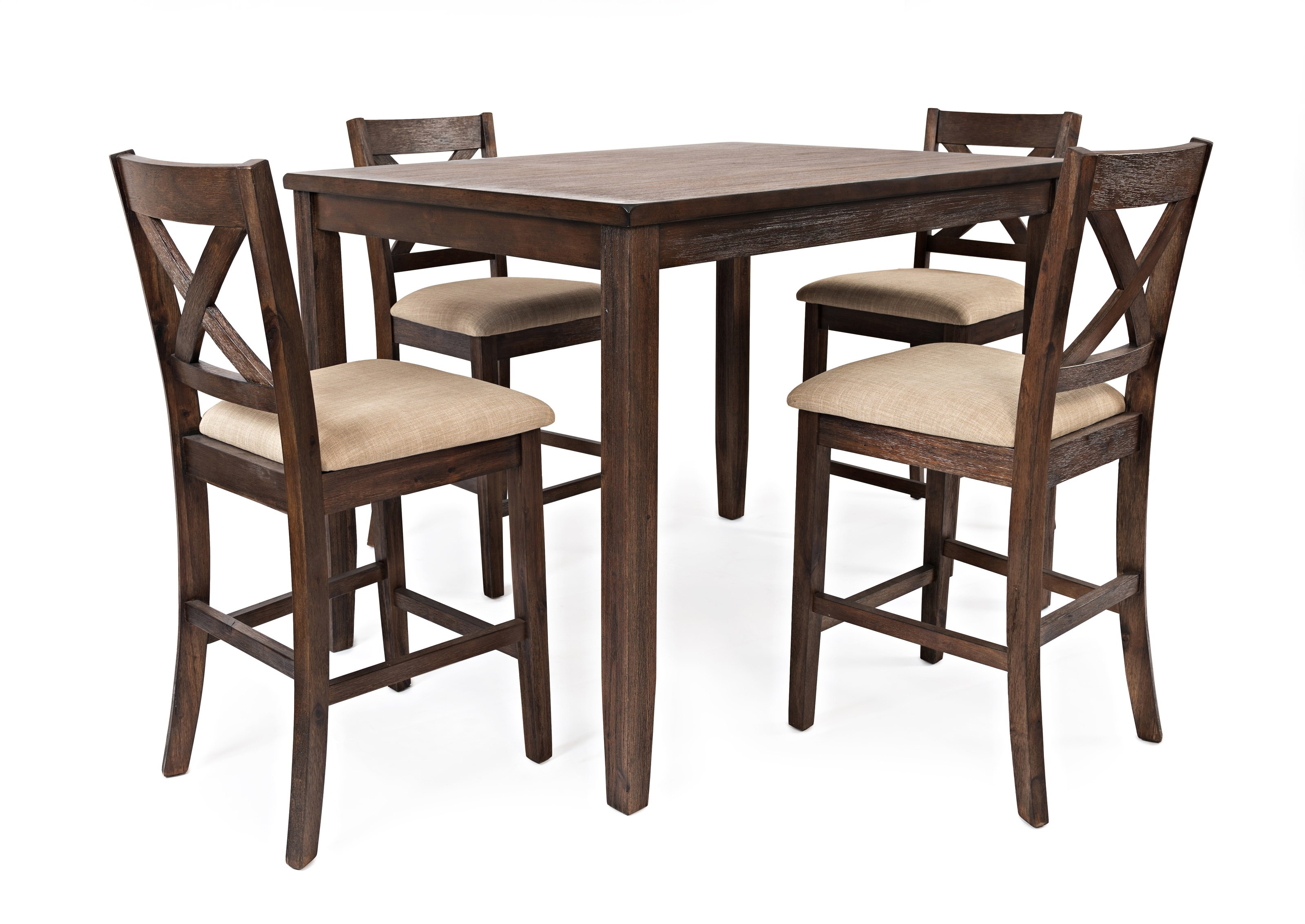 Morris Home Furnishings BrinkleyBrinkley 5 Piece Counter Height Dining Set  ...