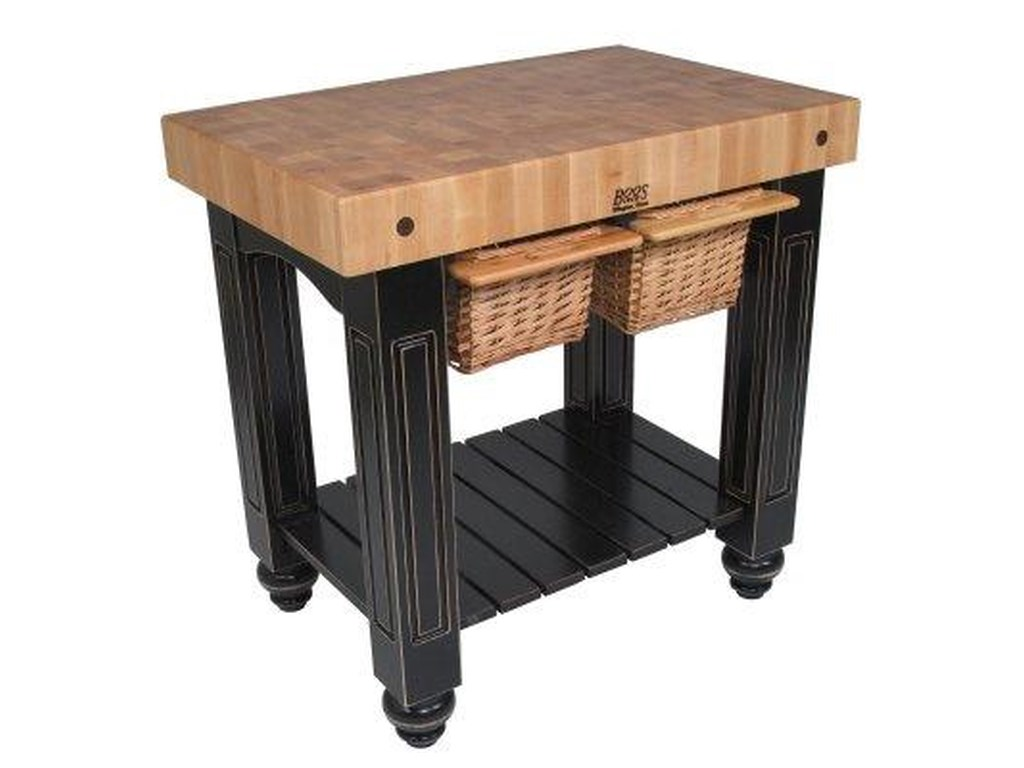 John Boos Kitchen Islands and CartsGathering Block II