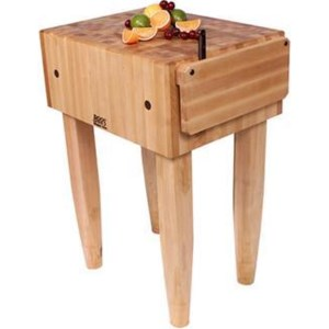 John Boos Kitchen Carts And Islands 10 Deep Natural Wood Butcher Block Kitchen Island Dinette Depot Dining Kitchen Island