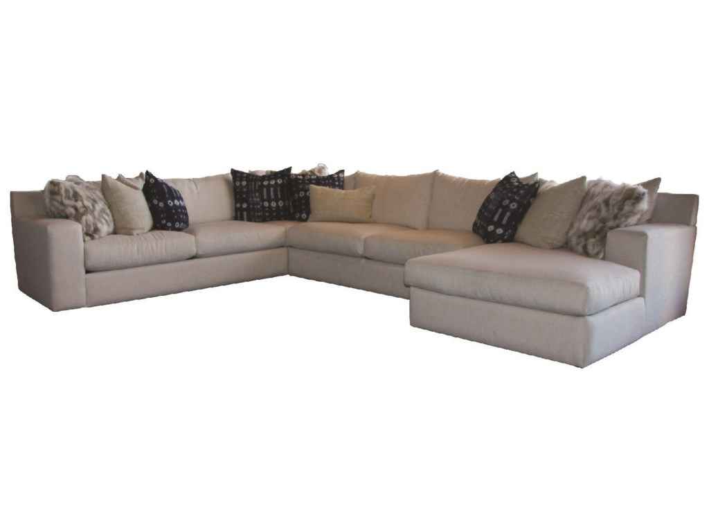 JMD Furniture 20004 PC Down Sectional