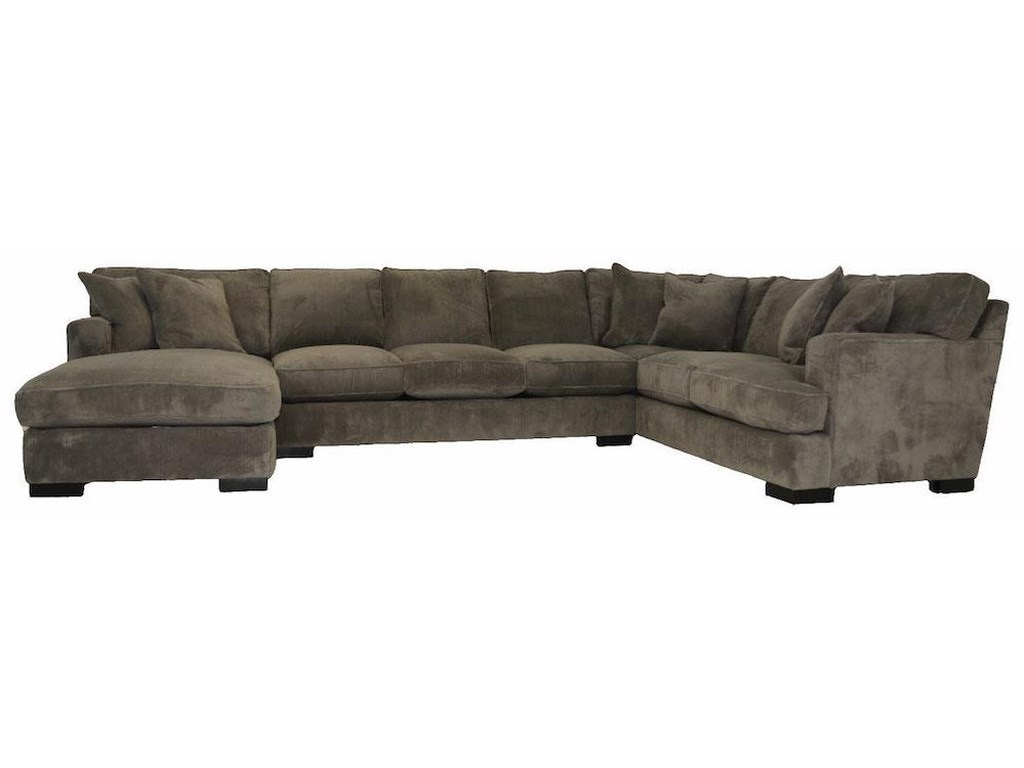 JMD Furniture 40003 PC Down Sectional