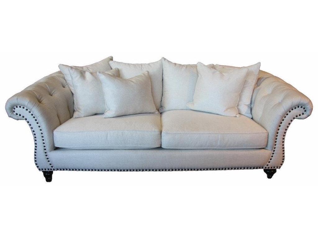 JMD Furniture 4500Down Tufted Sofa