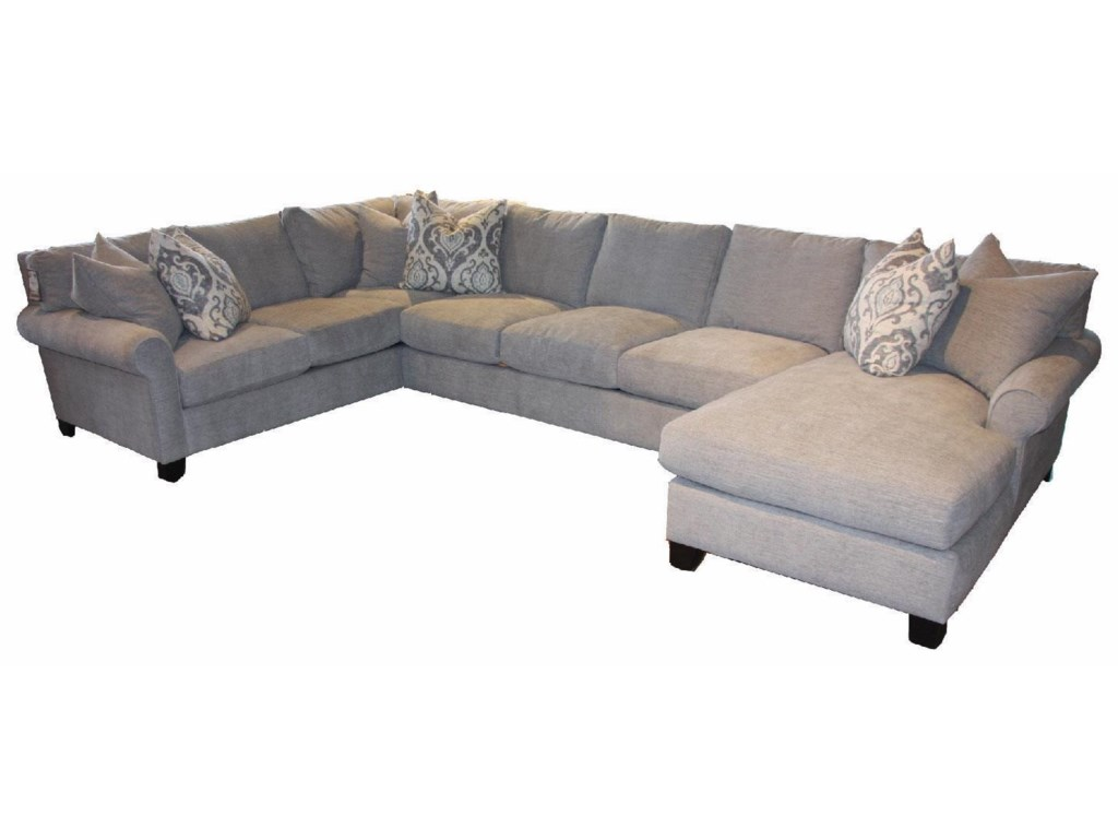 JMD Furniture 62003 PC Chaise Sectional