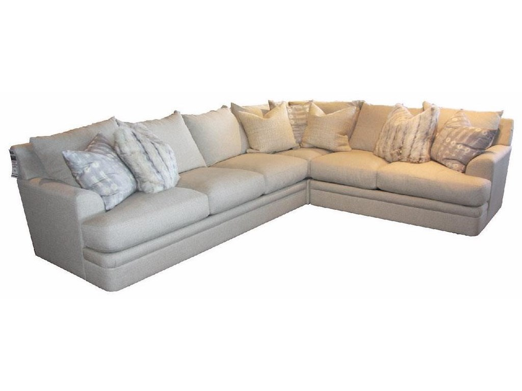 JMD Furniture 8000Down 3 PC Sectional