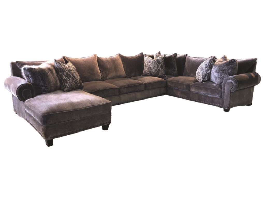 JMD Furniture 90003 PC Down Sectional