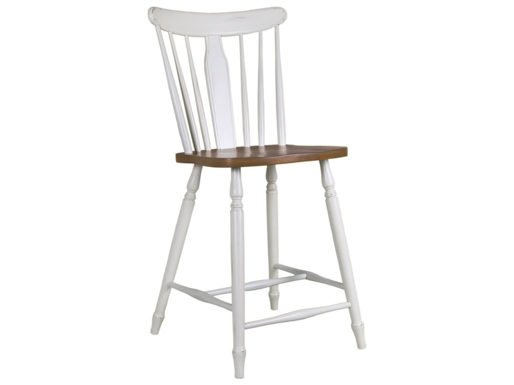John Thomas BridgeportCounter Height Stool